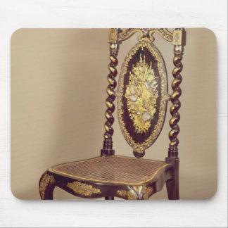 Stol mitt- 19th århundrade musmatta
