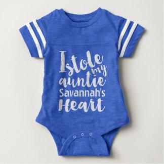 Stola för personligblåttsportar min Auntieshjärta Tshirts
