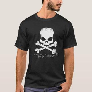 Stölddödor förstör den kristna tshirten tee shirts