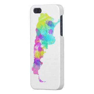 StolligvattenfärgArgentina karta iPhone 5 Fodraler