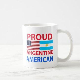 Stolt argentinsk amerikan kaffemugg