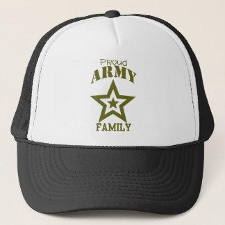 Stolt arméfamilj keps