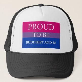 Stolt att vara buddistiskt och Bi Truckerkeps