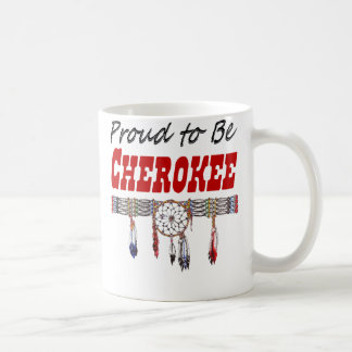 Stolt att vara Cherokee kaffekopp