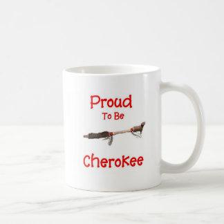 Stolt att vara Cherokee Kaffemugg