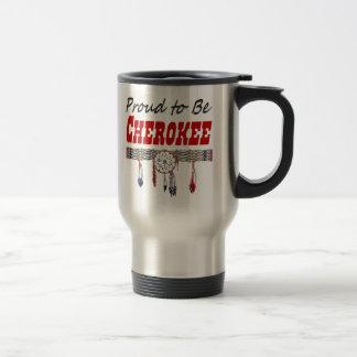 Stolt att vara Cherokee travel mug Resemugg