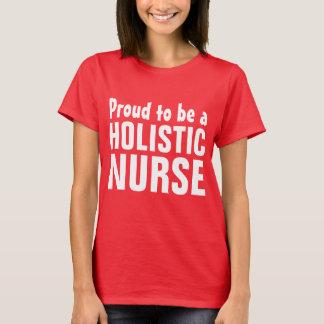 Stolt att vara en Holistic sjuksköterska T-shirts