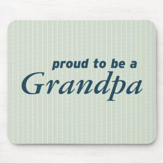 Stolt att vara en morfar! musmatta