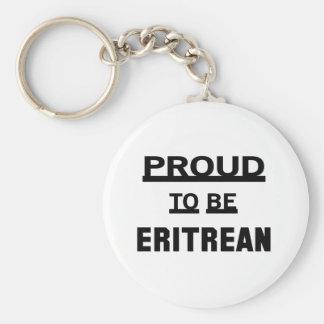 Stolt att vara eritreanskt rund nyckelring