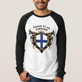 Stolt att vara finlandssvenskt tee shirts