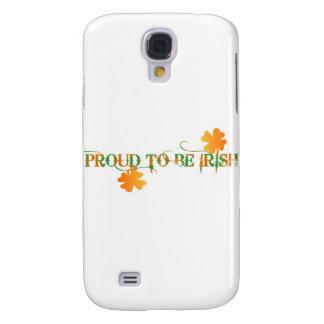 Stolt att vara irländskt Fodral-Kompis HTC livligt Galaxy S4 Fodral