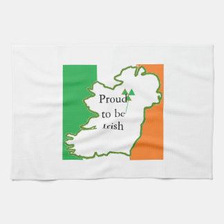 Stolt att vara irländskt kökshandduk