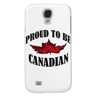 Stolt att vara kanadensiskt galaxy s4 fodral