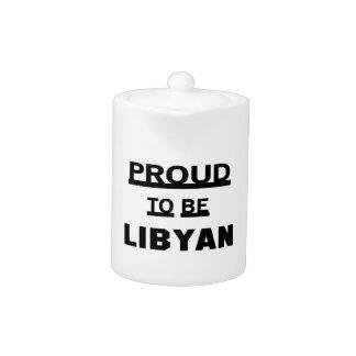 Stolt att vara libyskt