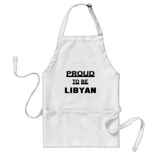 Stolt att vara libyskt förkläde