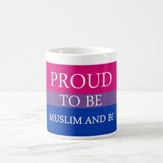 Stolt att vara Muslim och Bi Kaffemugg