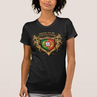 Stolt att vara portugisiskt tee shirt