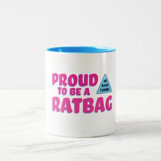 Stolt att vara Ratbag mugg