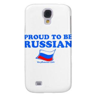 STOLT att vara ryskt Galaxy S4 Fodral