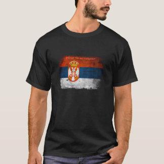 Stolt att vara serbisk t-skjorta tröja
