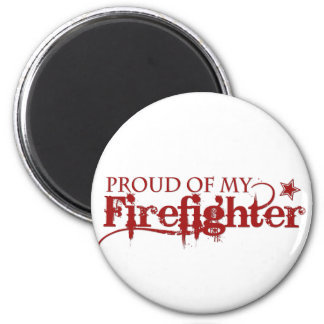 Stolt av min brandman magnet