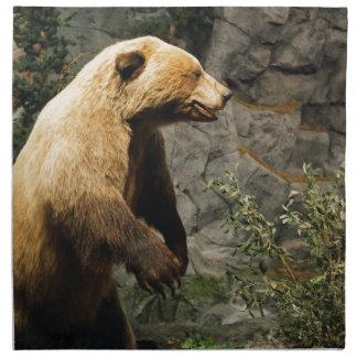 Stolt björn tygservett