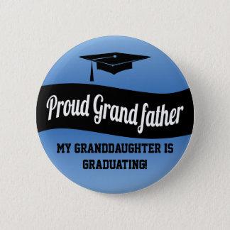 Stolt farfar - studenten knäppas standard knapp rund 5.7 cm