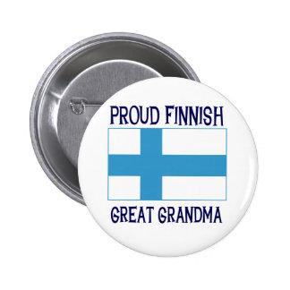 Stolt finlandssvensk underbar mormor nål