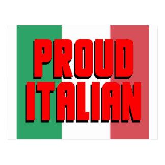 Stolt italienare vykort