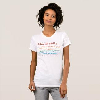 Stolt liberal person t-shirt
