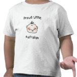 Stolt lite australier för pojke t-shirts
