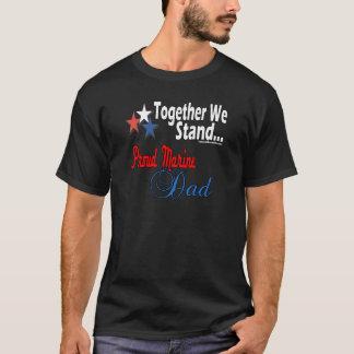 Stolt militär pappa t-shirts