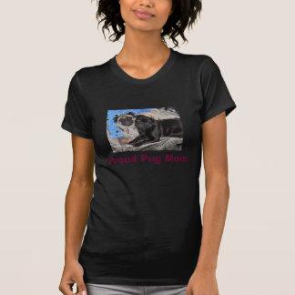 Stolt mopsmamma t shirt
