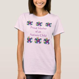 Stolt mor av det Autistic barnet T Shirt
