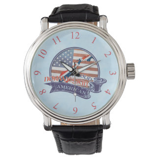 Stolt norsk amerikanklocka armbandsur