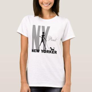 Stolt ny Yorker rolig en-av-en-sort T Shirt