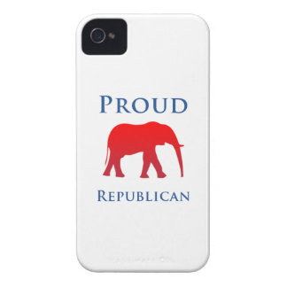 Stolt republikanskt fodral för iPhone 4S Case-Mate iPhone 4 Skal