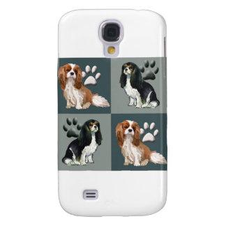Stolt Spaniel för kung Charles Galaxy S4 Fodral