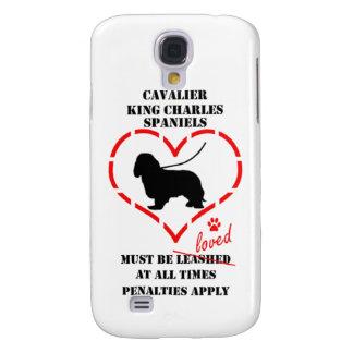 Stolt Spaniels för kung Charles måste älskas Galaxy S4 Fodral