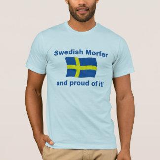 Stolt svenska Morfar (farfadern) Tshirts