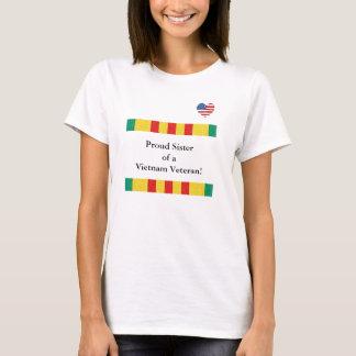 Stolt syster av en Vietnam veteranT-tröja T Shirt