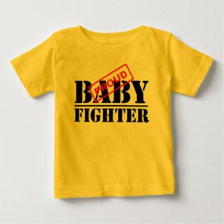 Stolt T-tröja för babykämpespädbarn Tee Shirt
