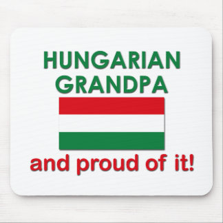 Stolt ungersk morfar Mousepad Musmatta