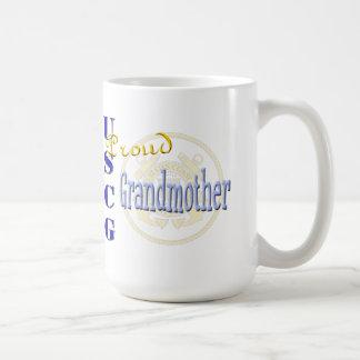 Stolt USCG-farmor Kaffemugg