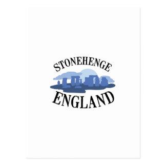 Stonehenge England Vykort
