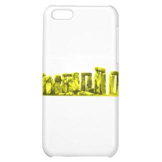 Stonehenge gult de MUSEUMZazzle gåvorna iPhone 5C Mobil Fodral