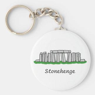 Stonehenge Rund Nyckelring