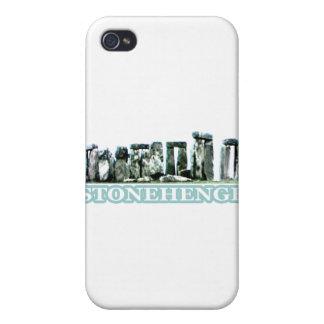 Stonehenge texttransp de MUSEUMZazzle gåvorna iPhone 4 Skal