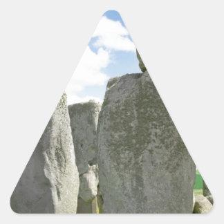 Stonehenge Triangelformat Klistermärke