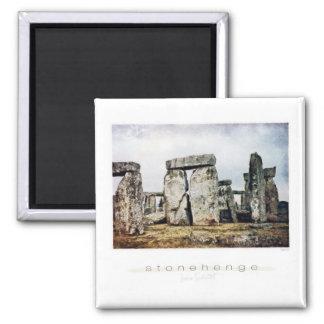 Stonehenge vattenfärgkonst magnet